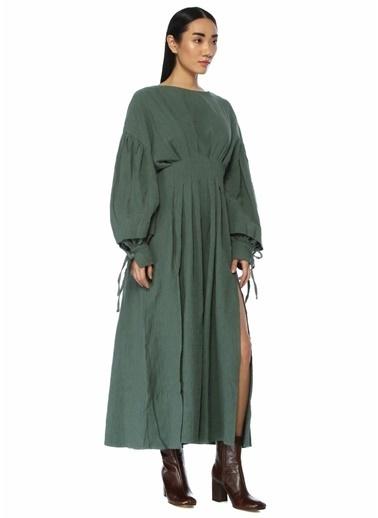 Ghospell Elbise Yeşil